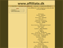 Tablet Preview of affilliate.dk